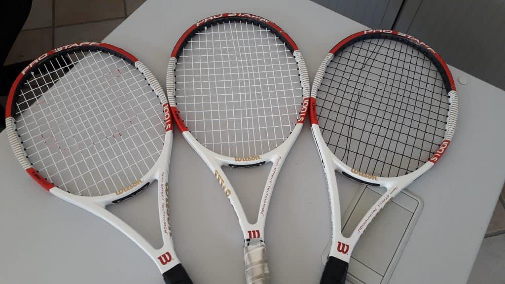 Raquette tennis wilson 100 ls white
