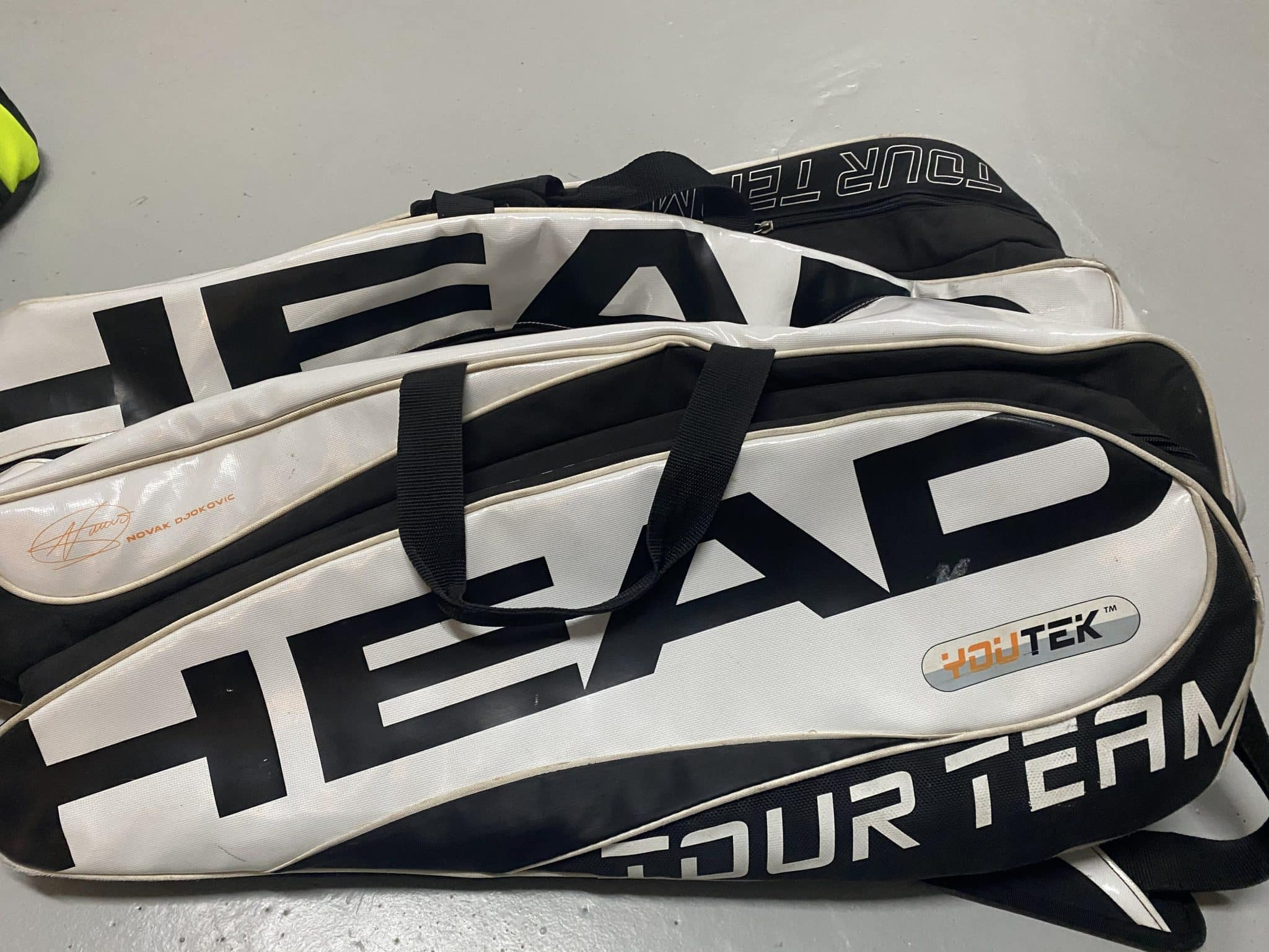 Head speed elite x2 + sac head speed Djokovic blanc & noir