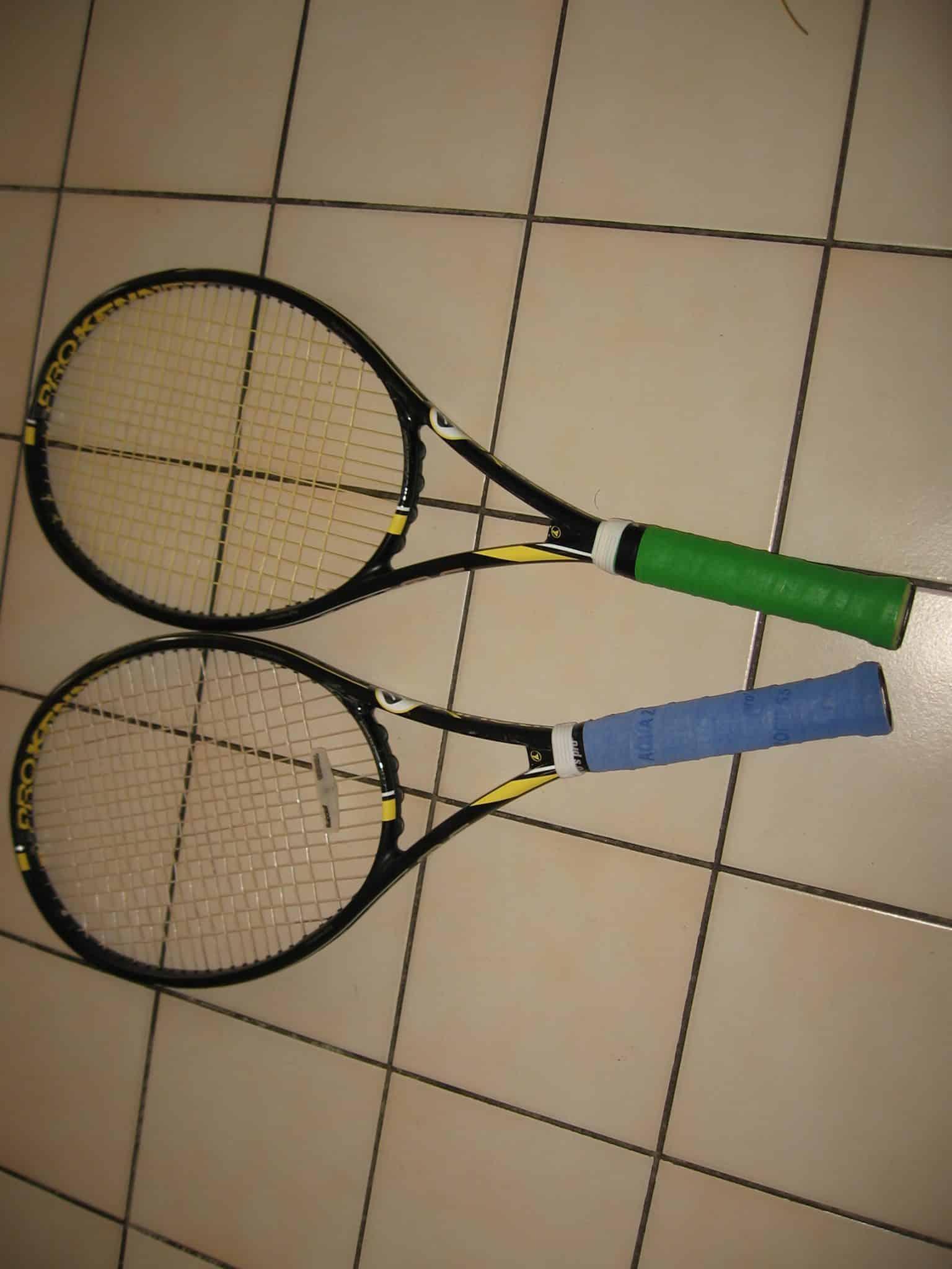 2 raquettes Pro Kennex Ki Q+5 290 grs  manche 3